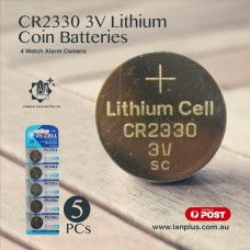 5 x CR2330 3V Lithium Battery