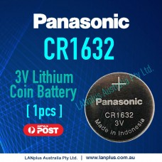 1x Panasonic CR1632 3v lithium Battery button cell coin for watches