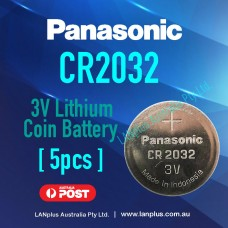 5x Genuine Panasonic CR2032 3v Lithium Coin Battery F Watch Alarm Camera