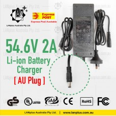 54.6V 2A Li-ion Lithium Battery charger for 48V ebike Electric Scooter Mobility
